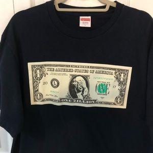 5ec5cb162 Supreme Shirts | Zillion Dollar Tshirt | Poshmark